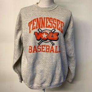 Vintage Tennessee Vols Baseball Graphic Sweatshirt